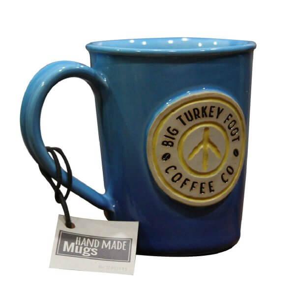Coffee mug - blue/yellow