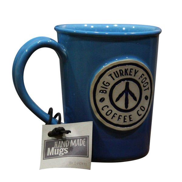 Coffee mug - blue/white