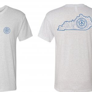 BTF Kentucky Logo Tshirt (heather/blue white)
